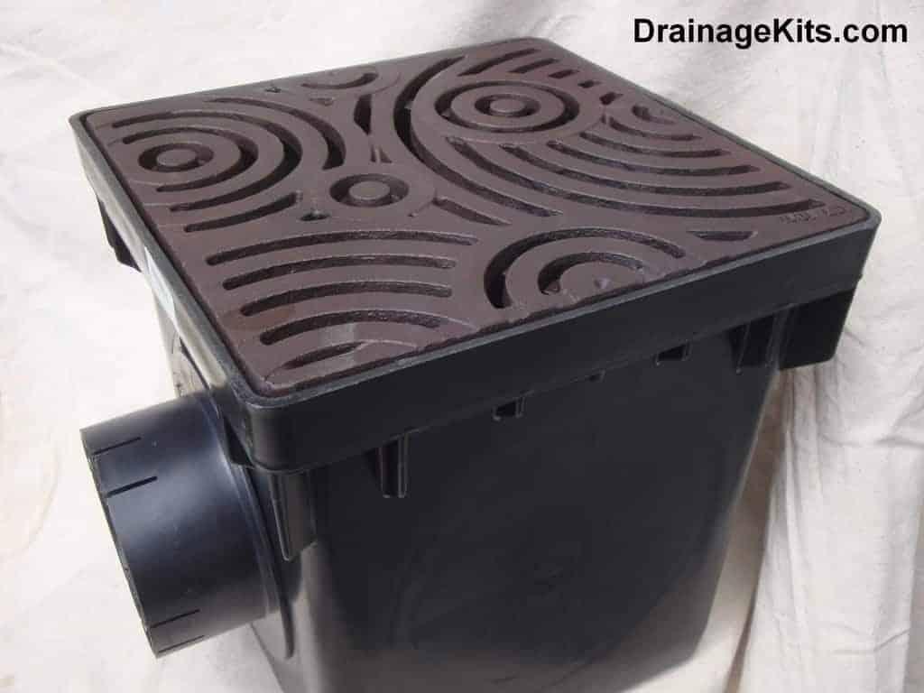 NDS catch basin w/cast iron grate - Oblio Boof