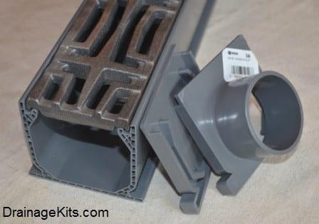 NDS Mini Channel w/cast iron grate - Carbochon