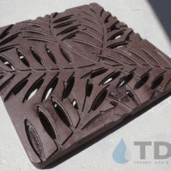 Iron Age Boof Baked on oil finish Locust Ironage Catch Basin Grate
