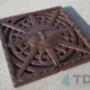 Iron Age Boof Baked on oil finish Sun Ironage Catch Basin 12x12 Grate
