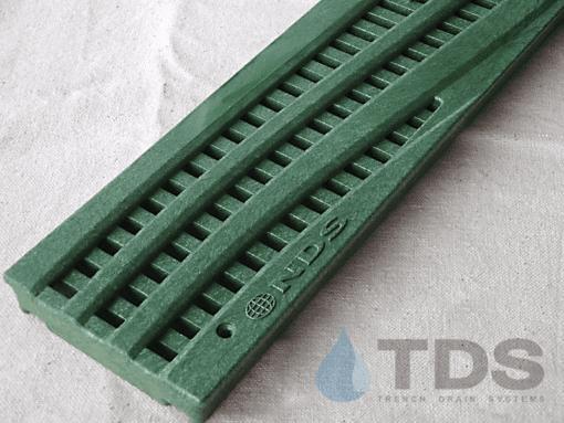 4″ Decorative Spee-D Channel Polyolefin Grate in Green