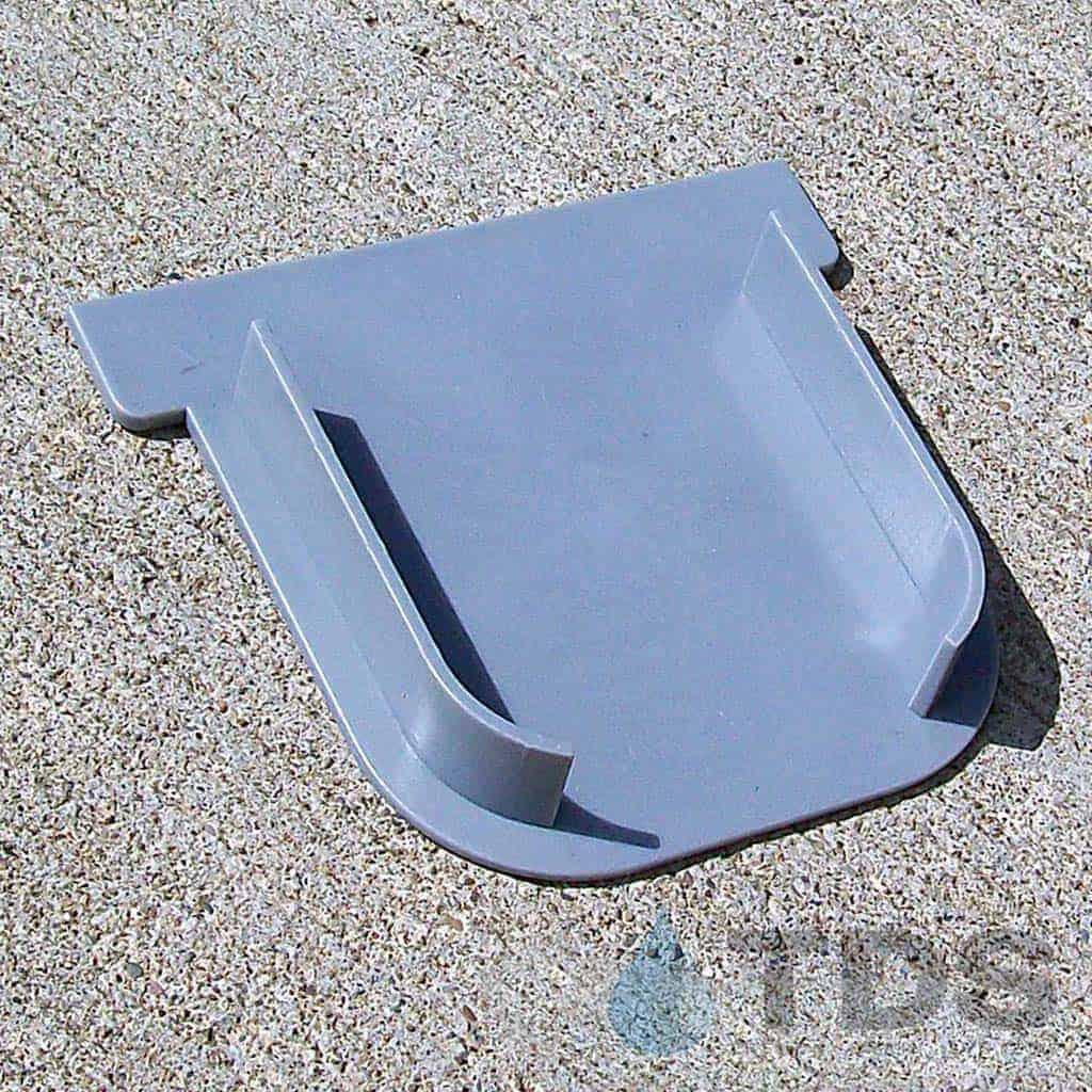 driveway-drain-closed-end-cap-gray