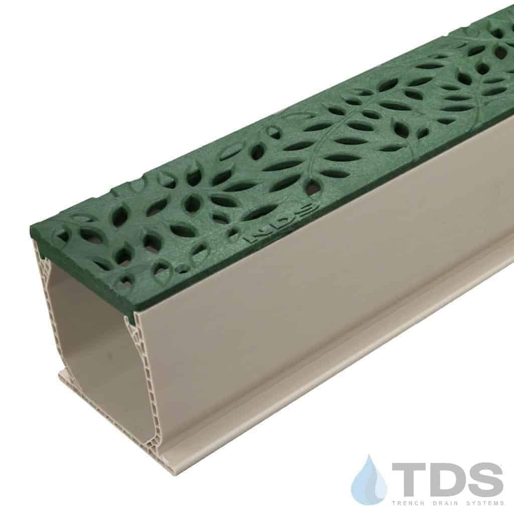 MCKS-554GR-TDSdrains green deco botanical grate nds