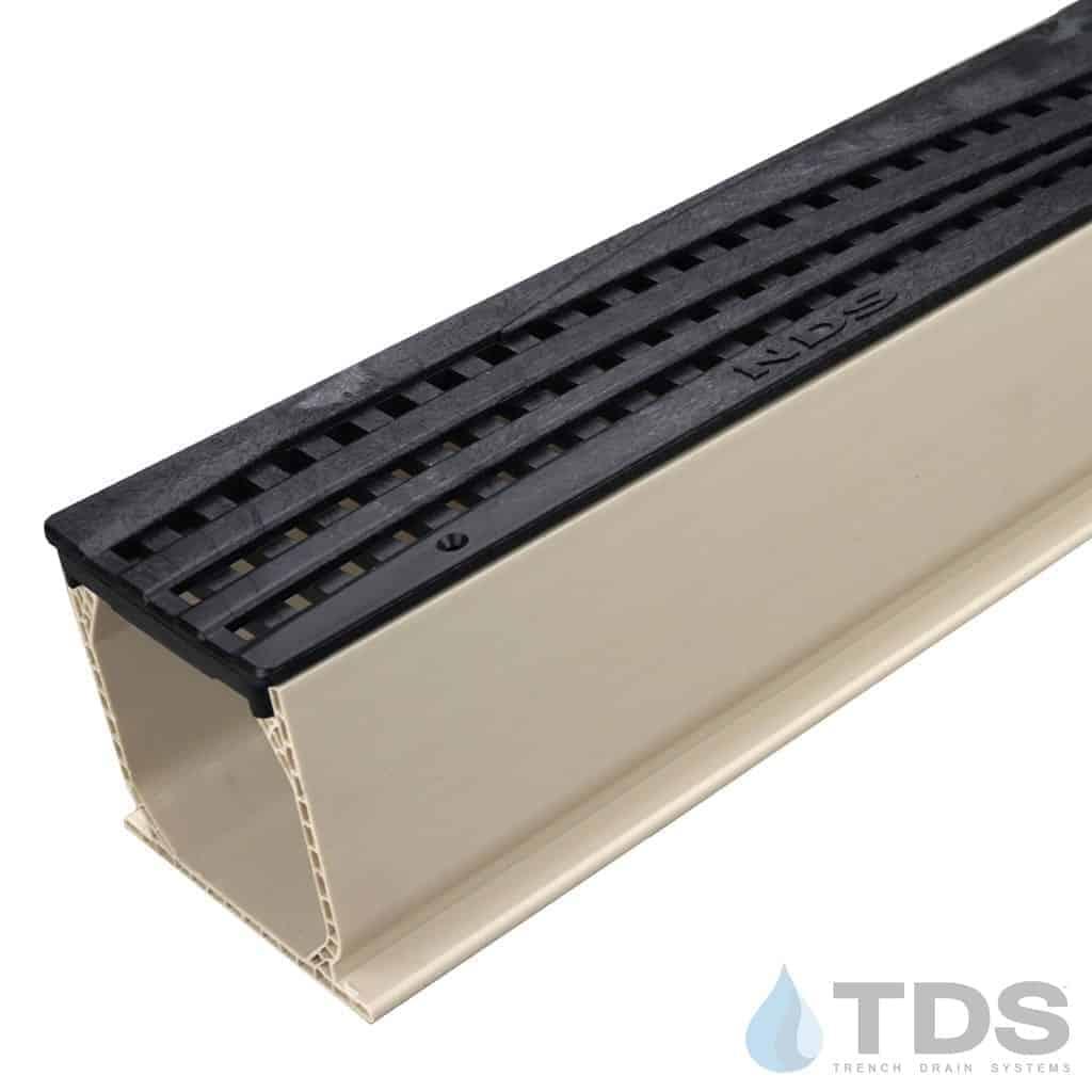 MCKS-555-TDSdrains black wave poly grate sand mini channel