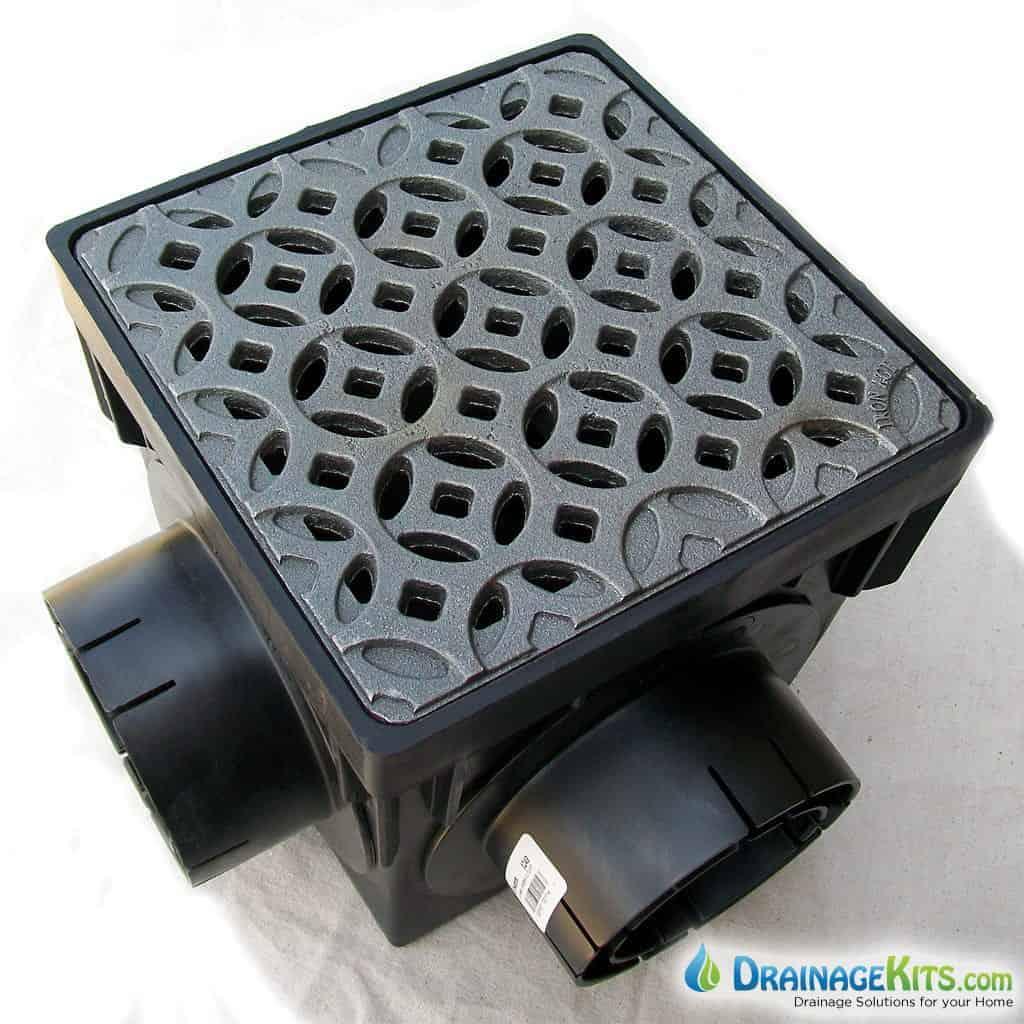 NDS900-4 Catch basin kit w/cast iron grate - Interlaken
