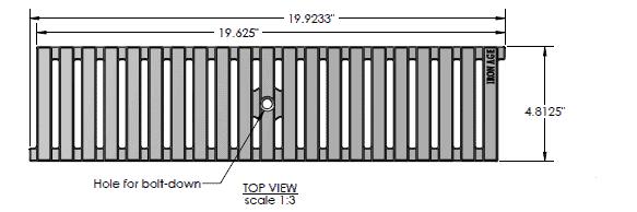 IA-Reg-0520-Ironage-Cast-Iron-Regular-Joe | Trench Drain Systems Grates