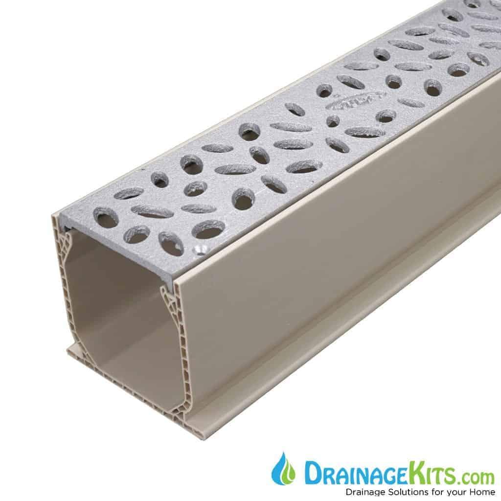 MCKS-TDS566 aluminum raindrop tds grate tds sand channel