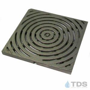 IronAge-bullseye-12x12-cb-grate-TDSdrains raw cast iron deco