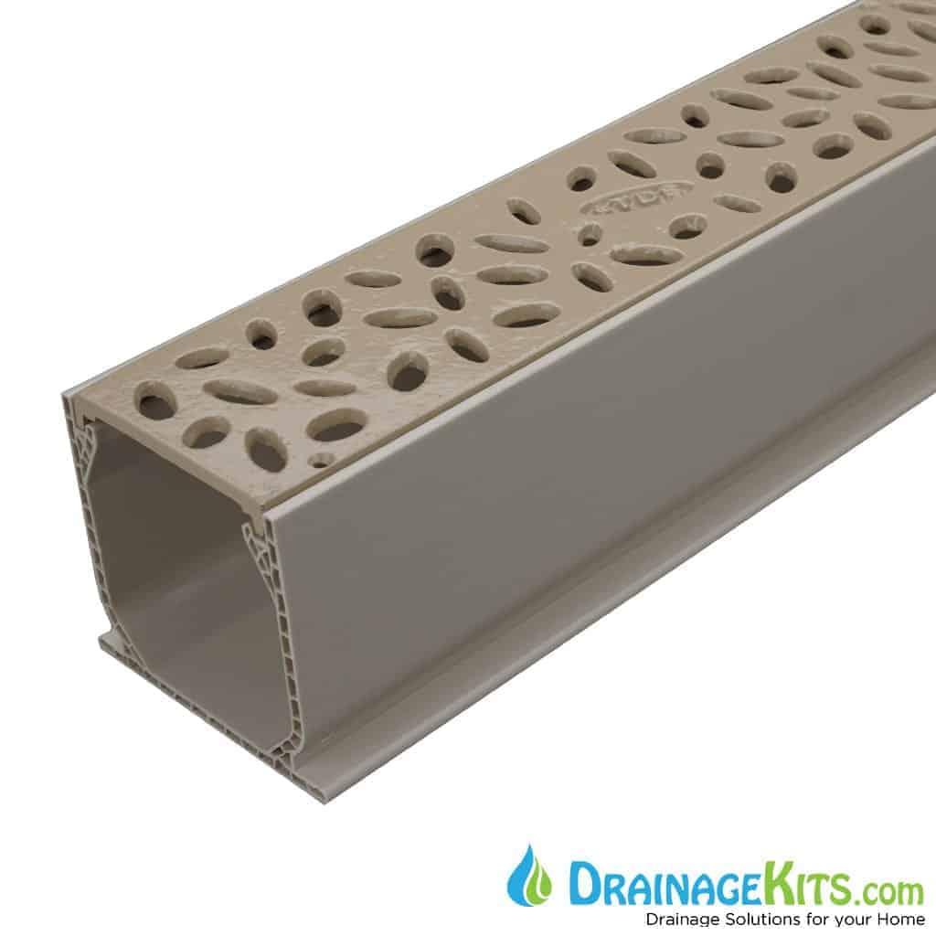 MCKS-TDS566S caramel rain drop aluminum grate tds sand channel