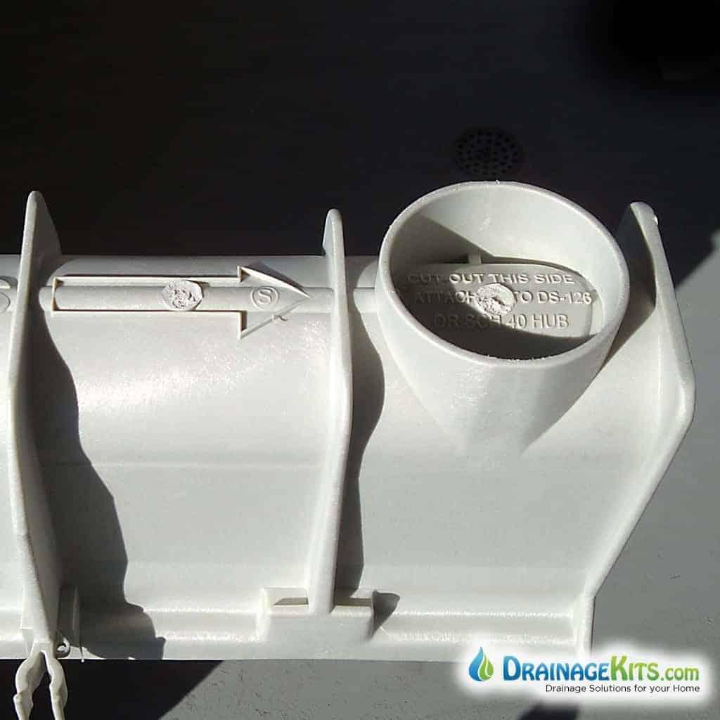 Dura Slope bottom outlet