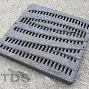 NDS1224CI-Cast-Iron-Wave-Raw-Catch-Basin-Grate