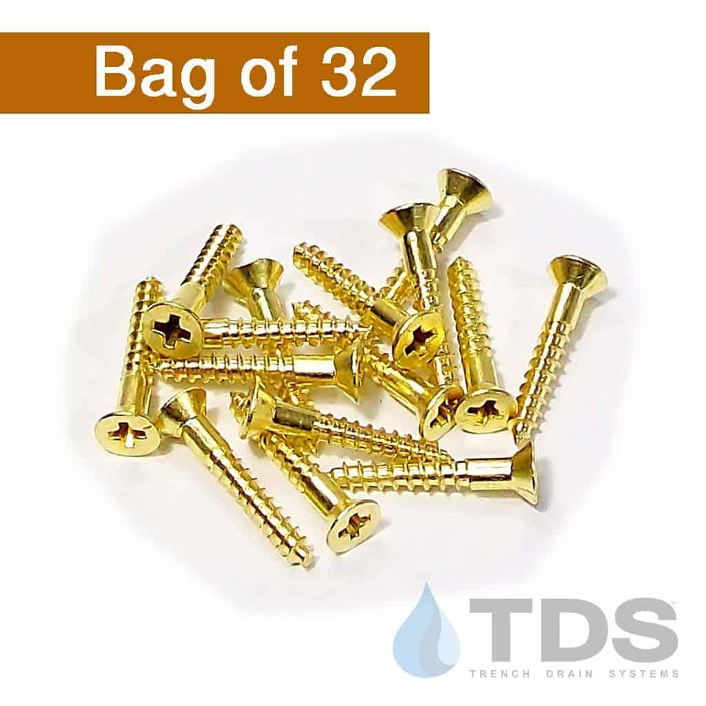 TDS529B brass flathead screws for NDS mini channel