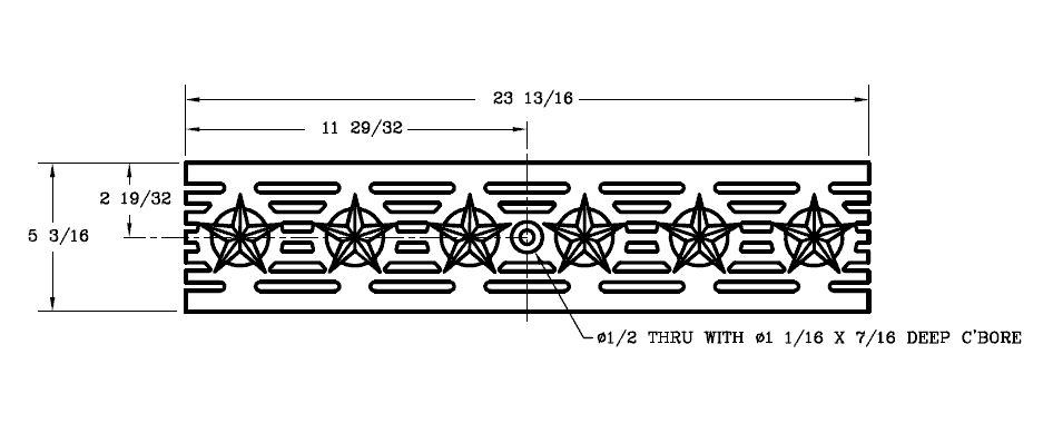 DG0692-Patriot-Grate-Ductile-Iron-Polycast-Deco | Trench Drain Systems Grates