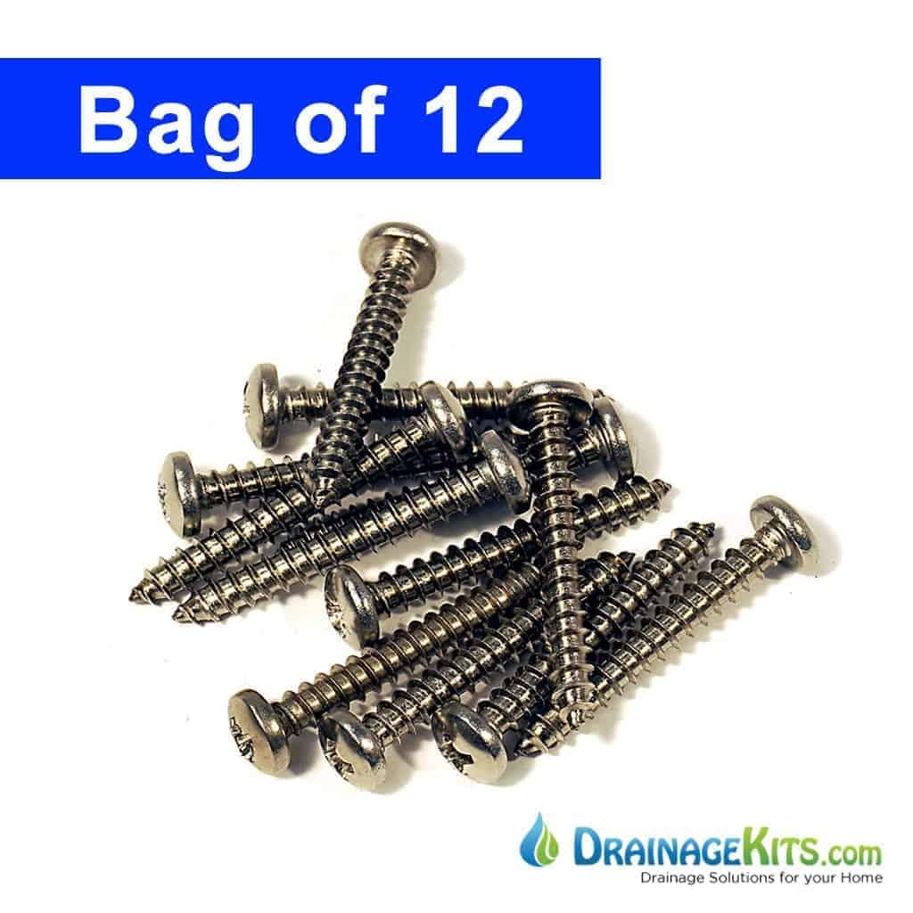 polylok screws bag of 12