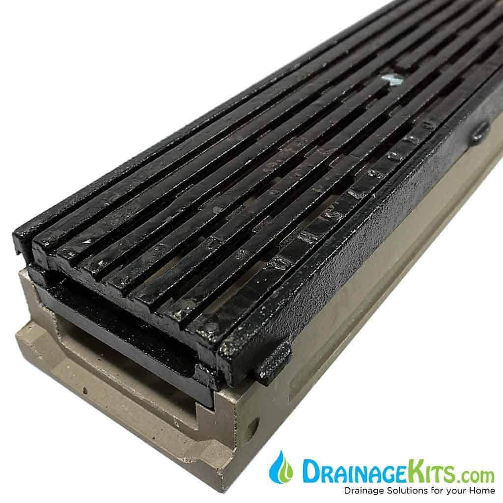 Poly500 DG0675HD grate Cast Iron Frame