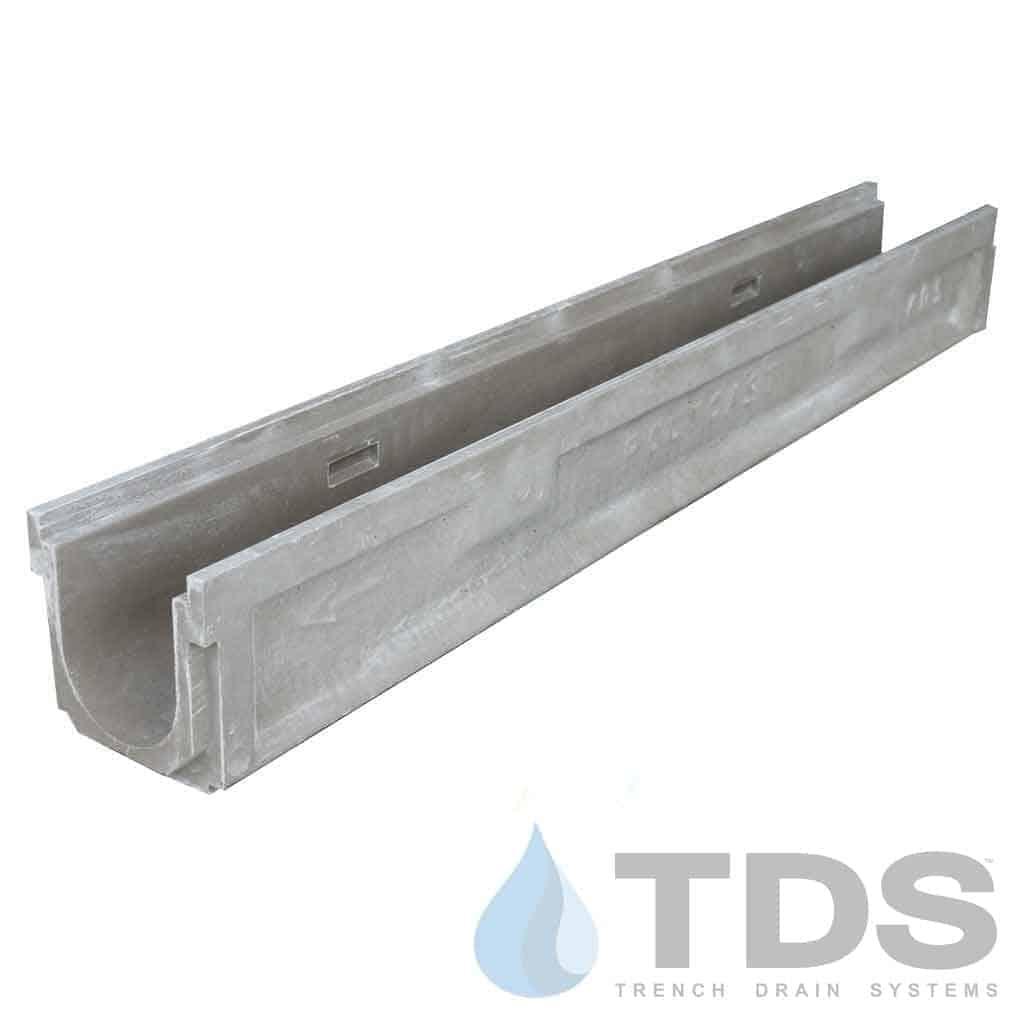 Polycast-600Channel-DK polymer concrete pre sloped channel