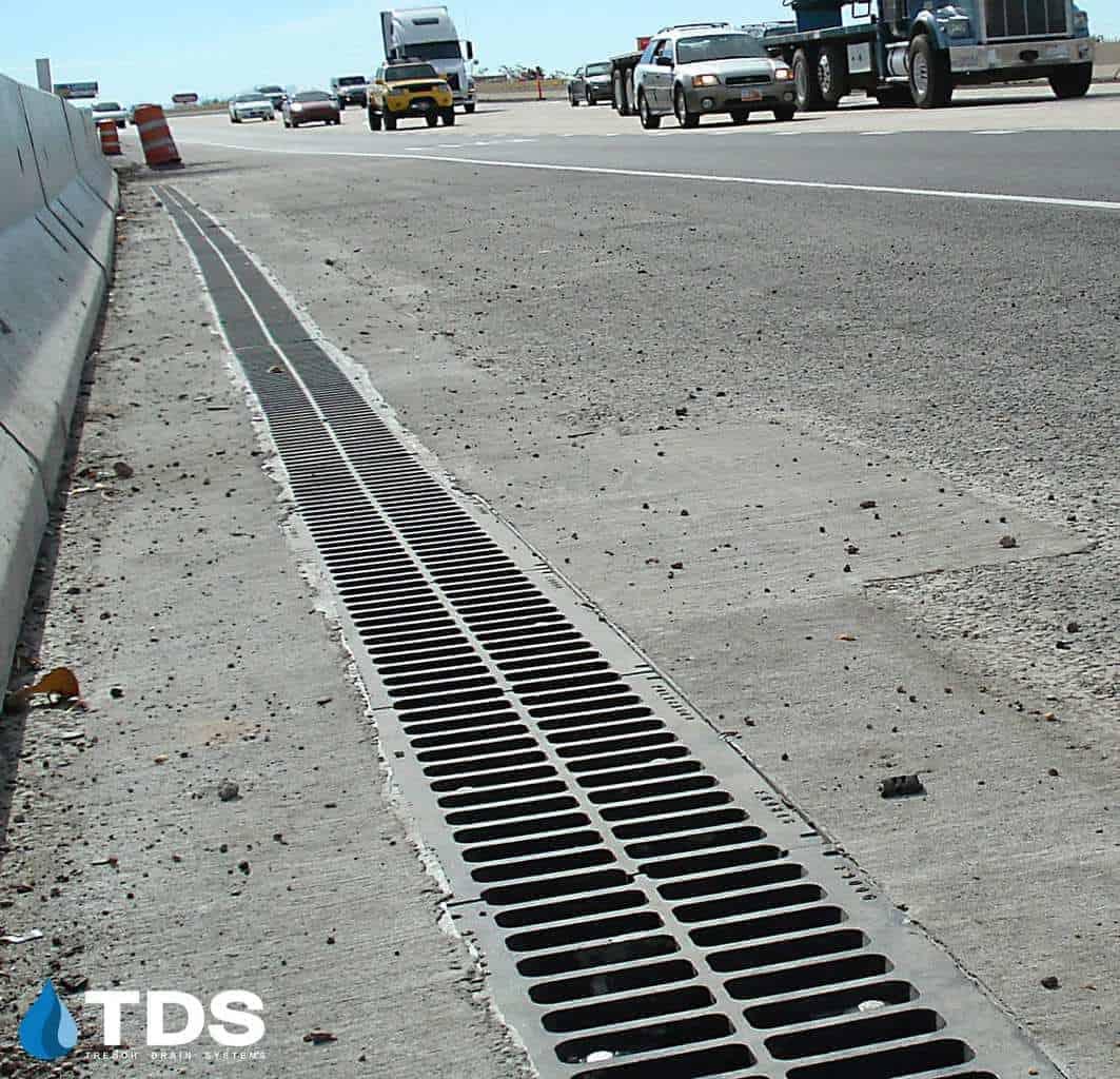 FP1200 drain system California highway installation