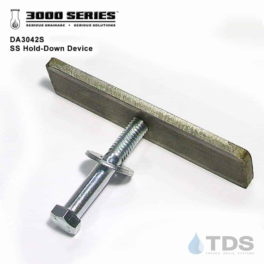 TDS-3000-series-DA3042S locking device grate hold down