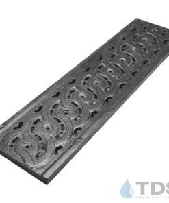 Dura-Weave-Grate-TDSdrains Dura Slope deco cast iron grate
