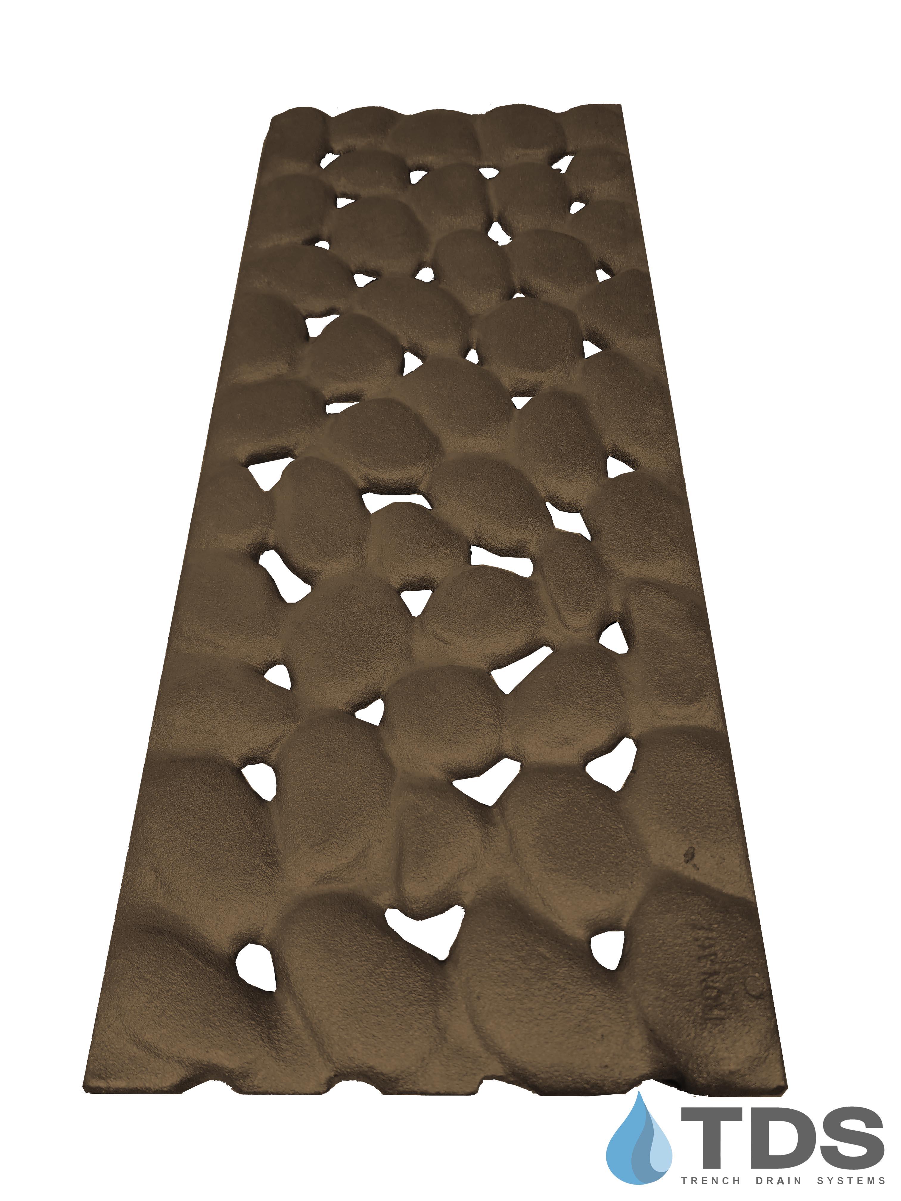 Iron Age 8x20 River Rock Grate - BoOF deco grate cast iron