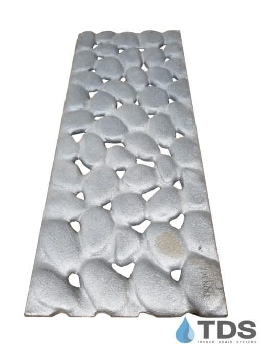 Iron Age 8x20 River Rock Grate - Raw deco grate cast iron