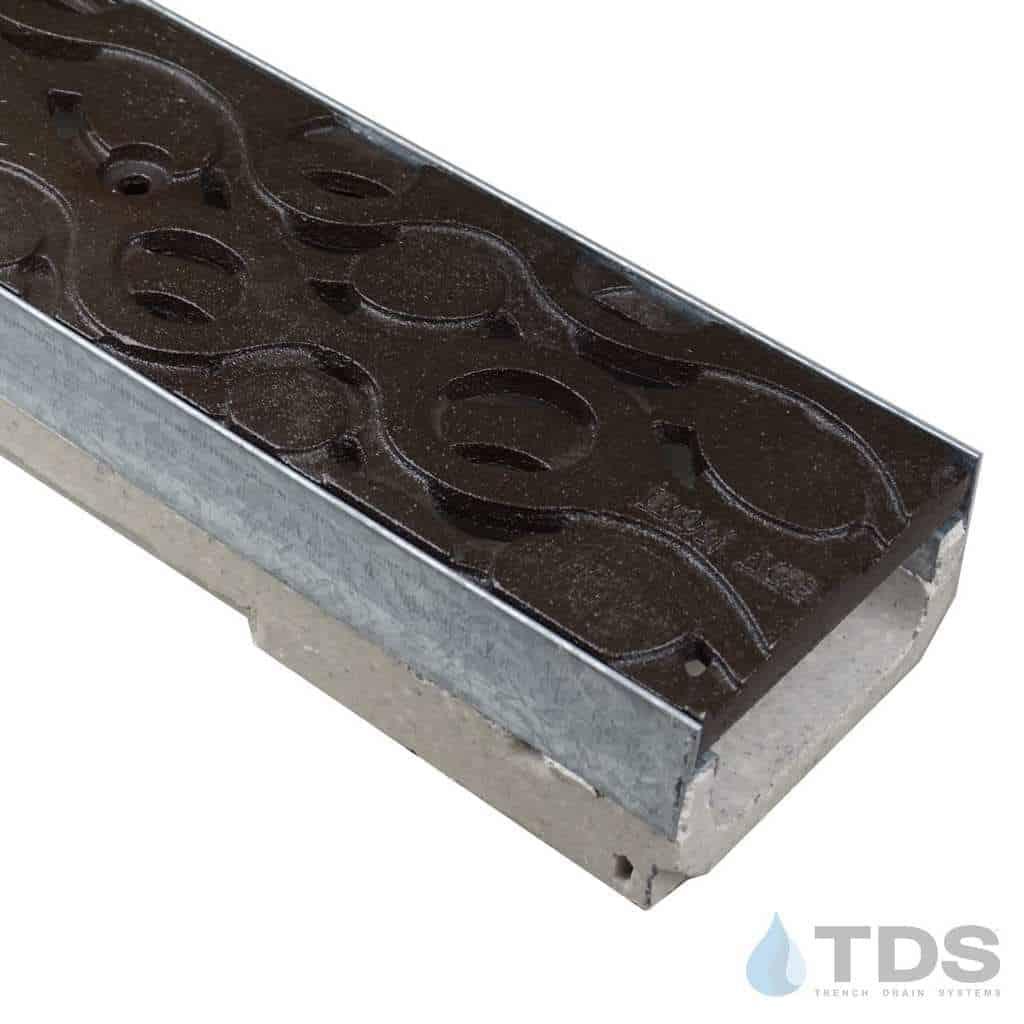 M100K-Janis-boof cast iron ironage deco grate polymer concrete channel ULMA