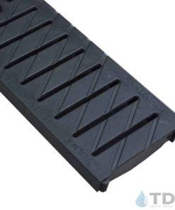 494 PNH100KCAM black plastic slotted ulma grate