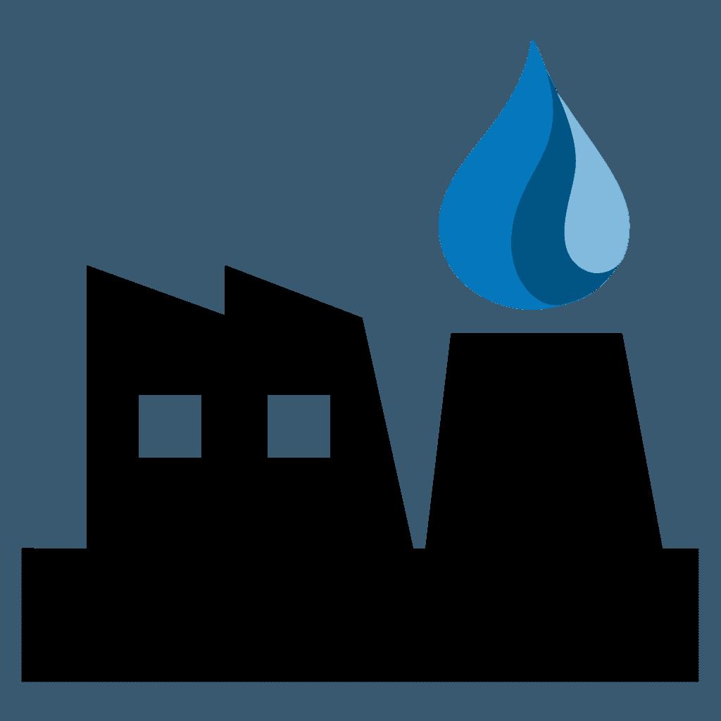 industrial building icon