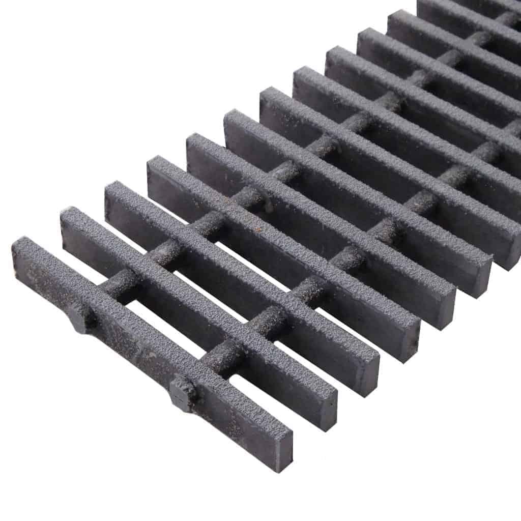 Fiberglass trench drain grates by FiberGrate