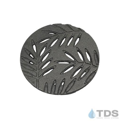 IA-LOC-6D-HP Iron Age Cast Iron Locust 6 inch Diameter Heel Proof Round Grate
