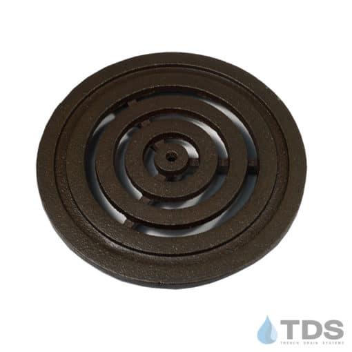 Iron Age 6 inch diameter Bullseye BoOF deco drain grate
