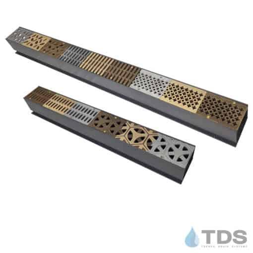 SPL-MCK-TDS-01 Bronze Age Grate Samples in Grey Mini Channel